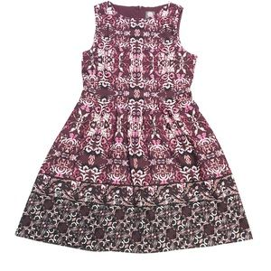 Vince Camuto patterned A-line Dress